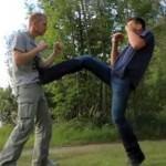 Selbstverteidigung – Tritttechnik