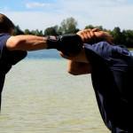Auf welchen Kampftechniken baut das Selbstverteidigungskonzept von Protect Your Neck auf? (04.)