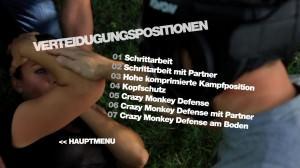 Verteidigungspositionen - DVD Menü